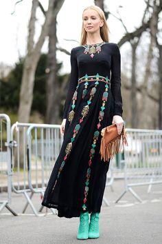 Street style Paris Fashion Week otono invierno 2014   Galería de fotos 125 de 249   VOGUE