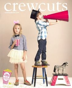 Sarah Clary for Crewcuts Spring 2010