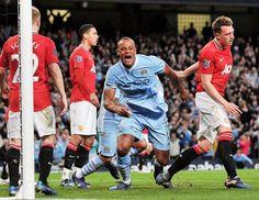 Manchester Derby April 2012 - City 1 vs United 0