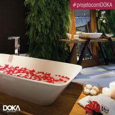Conheça o projeto SPA Urbano, do arquiteto Edson Lorenzzo, com a banheira Victoria+Albert Ravello.