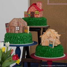 Three Little Pigs Birthday Party Ideas | Photo 1 of 28