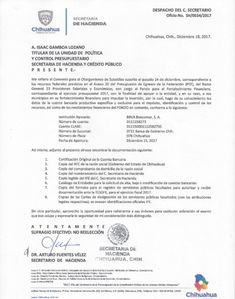 Exhibe gobierno de Chihuahua a la SHyCP comprobando oportuna apertura de cuentas bancarias | El Puntero