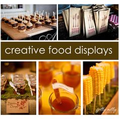 creative food displays for a fun summer BBQ
