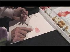 Watercolor Painting : How to Paint Skin Colors