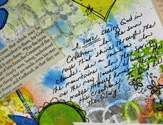**Please note: To see today's {Faith Journaling} post, please click here . Since I am new to art journaling ( since May 2011 ), I am findi...