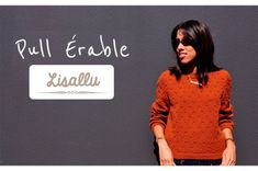 Craft Lovers ♥ Jersey Érable con Katia Merino 100or Lisallu | http://www.katia.com/blog/es/craft-lover-jersey-erable-katia-merino-lisallu/