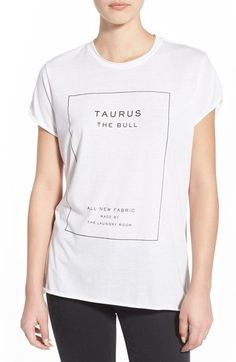 The Laundry Room 'Taurus' Tee available at #Nordstrom