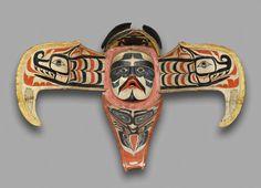 Kwakwaka'wakw artist. Thunderbird Transformation Mask, 19th century. Alert Bay, Vancouver Island, British Columbia, Canada. Cedar, pigment, leather, nails, metal plate, open: 48 x 71 x 15 in. (121.9 x 180.3 x 38.1 cm), closed: 20 1/2 x 17 x 29 1/2 in. (52.1 x 43.2 x 74.9 cm). Brooklyn Museum, Museum Expedition 1908, Museum Collection Fund, 08.291.8902