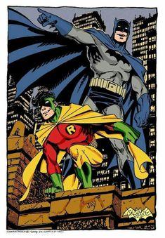 A throwback of Batman & Robin....