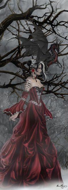Nene Thomas Dragons   Dragon Queen of Shadows New Nene Thomas Artist 1000 Piece Jigsaw ...: