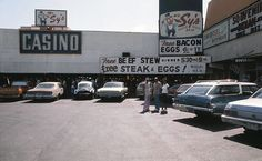 Mr. Sy's Casino of Fun was located in the Las Vegas Plaza Shopping Center (then called Fashion Square), located directly across from the Stardust (ca. 1975)