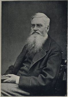 Alfred Russel Wallace - Without this man, nobody would know who Charles Darwin was - Thank you, Wallace, for the theory of natural selection!
