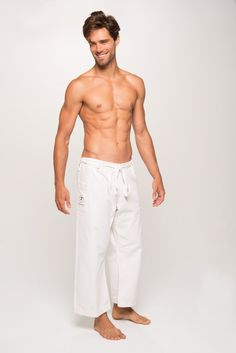 Men's Yoga Pants by YOGiiZA Made with 100% Organic Cotton