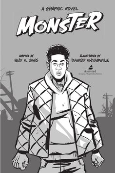 'Monster: A Graphic Novel' written by Walter Dean Myers, adapted by Guy Sims, and illustrated by Dawud Anyabwile (Amistade/HarperCollins Children's)