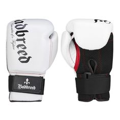 BADBREED TRIBUTE RECREATIONAL GLOVES - Foam injected, pre-curved, high-grade buffalo leather training gloves. Superior comfort design for a snug, lightweight fit with extra breathable material.