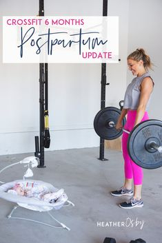 Crossfit postpartum update. And again, even though these were slower workouts and different workouts than what you'd typically see at Crossfit, they were super challenging for my postpartum bod! Here's a taste of what I was doing in those early days.  Postpartum Workout Plan, Motivation, Diastasis Recti, 6 Week, When To Start, Losing Weight, At Home, Pelvic Floor, With Baby, Challenge, After Pregnancy, For Beginners, Gym, Abs, Recovery, Best, Exercises. #crossfitpostpartum Post Baby Workout, Post Pregnancy Workout, Diastasis Recti Exercises, Pelvic Floor Exercises, Postpartum Workout Plan, Crossfit At Home, Losing Weight, Weight Loss, Fit Board Workouts