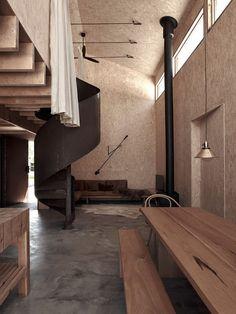 Loft Spaces, Open Plan, Soft Furnishings, The Locals, Interior Inspiration, Rose, Interior Architecture, Studio, Home Decor