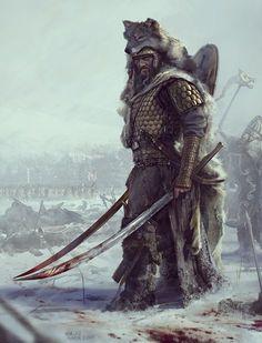 "ArtStation - ""Getae"". Dacians warriors., Mariusz Kozik"