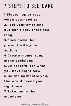 Mind, Intellect + Emotions: 7 steps to self care Quotes To Live By, Life Quotes, Self Care Activities, Self Improvement Tips, Self Care Routine, Statements, Life Advice, Way Of Life, Best Self