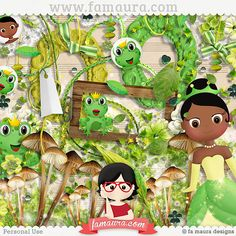 Mini Kit - The Princess and the Frog by Fa Maura