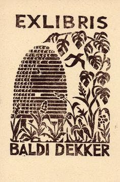 Ex libris - Baldi Dekker Ex Libris, Earth Book, Linoleum Block Printing, Book Of Kells, Chalk Pastels, Art Graphique, Ink Illustrations, Elements Of Art, Art