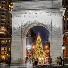 Washington Square Christmas...
