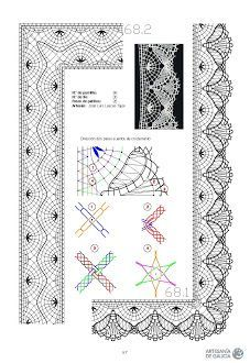 Лариса Тен - Photo from album Crochet Dollies, Knit Crochet, Bobbin Lacemaking, Bobbin Lace Patterns, Lace Heart, Parchment Craft, Point Lace, Lace Jewelry, Crochet Borders