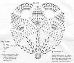 مفرش كروشيه بالباترون - crochet doily with pattern ~ شغل ابره NEEDLE CRAFTS