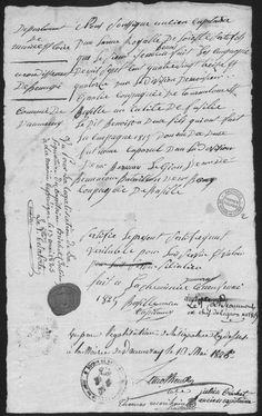 Jean Baptiste Benoist, fusilier de l'Armée Royale de l'Ouest