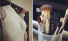 5 tips to getting ready the morning of your wedding...some I never would have thought of!