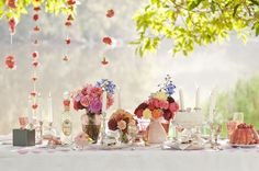 whimsical table setting