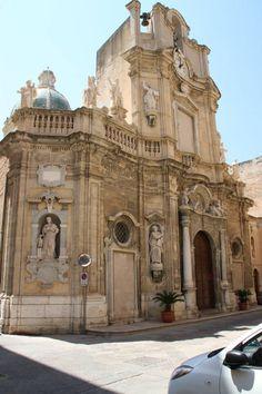 Chiesa del Purgatorio, Trapani Sicilia