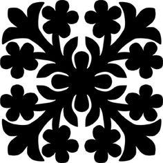 Hawaiian Quilt Tile 64 : HaoleKid Hawaiian Quilt Patterns, Hawaiian Pattern, Hawaiian Quilts, Applique Patterns, Applique Quilts, Applique Designs, Quilting Projects, Quilting Designs, Tiki Hawaii