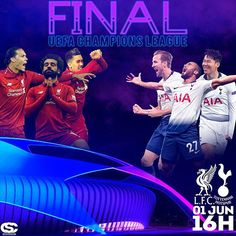 """Csc Designer no Instagram: """"Final da @championsleague entre Liverpool e Tottenham será no sábado 1º de Junho em Madrid no estádio @wandametropolitano. #ucl #liverpool…"""" Liverpool, Junho, Madrid, Movies, Movie Posters, Instagram, Design, Finals, Films"""
