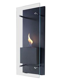 Cannello Wall-Mounted Ethanol Burning Fireplace