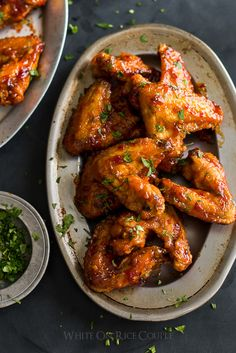 Incredible Sticky Fish Sauce Chicken Wings... OmG...., fish and chicken...!