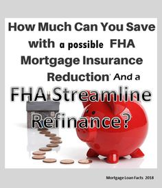 FHA- Streamline Refinance – Mortgage Loan Facts If you have a FHA Loan and need to lower your rate or payment-Think FHA Streamline Refinance. Refinance Mortgage, Mortgage Tips, Fha Loan, Piggy Bank, Facts, Real Estate, Ideas, Youtube, House