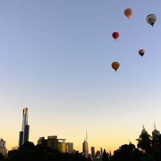 Early Morning Flight over #melbourne