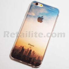 Chicago City Skyline iPhone 6 / 6S Soft Case Chicago Cityscape Skyline iPhone 6 / 6S Soft Case – Willis Tower iPhone Case