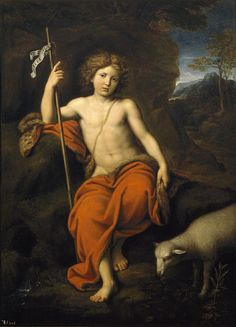 Saint John The Baptist Pierre Mignard