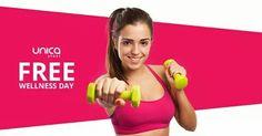 Completeaza formularul de pe site si beneficiaza de o zi de antrenamente* gratuite la Unica Sport Romania!  Detalii si informatii suplimentare pe email office@unicasport.ro sau la numarul 0740 40 60 90 si pe www.unicasport.ro  *Promotia este valabila pentru antrenamentele de grup.  Va asteptam!