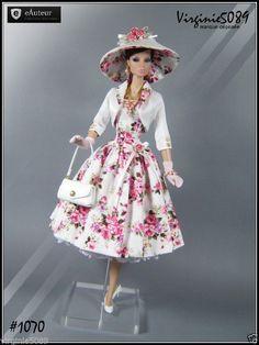 Tenue Outfit Accessoires Pour Fashion Royalty Barbie Silkstone Vintage 1070 | eBay