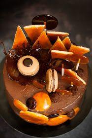 Dobostorta - gluténmentes blog: Dobostorta Birthday Cake, Blog, Caramel, Birthday Cakes, Blogging, Cake Birthday