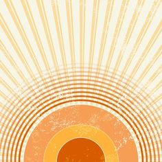 size: Photographic Print: Retro Starburst by one AND only : Orange Aesthetic, Retro Aesthetic, Wall Collage, Framed Artwork, Wall Art, Sun Art, Hippie Art, Retro Art, Picture Wall
