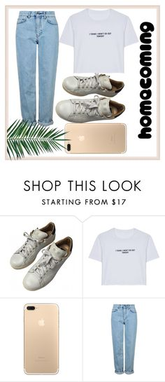 """""""Untitled #36"""" by dafnaschuster ❤ liked on Polyvore featuring adidas, WithChic, Topshop and Nika"""