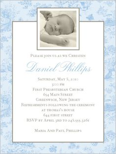 Jolie Bebe Blue 4x5 Stationery Card by Stacy Claire Boyd | Shutterfly