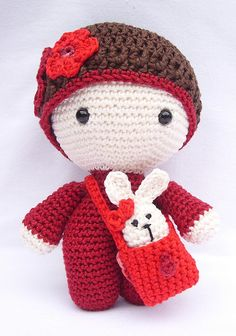 Ravelry: Zig-Zag's Big Head Baby Doll