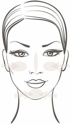 face-model-Apply Make-Up correctly