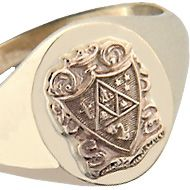 Kappa Delta Crest Ring.... My boyfriend bought this for me in black and silver !!!  I treasure it!! :)