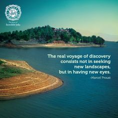 The best way to enjoy MP is indeed through the eyes of a child! Explore Quotes, Marcel Proust, Discovery, Travel Inspiration, Asia, Child, Good Things, Landscape, Eyes